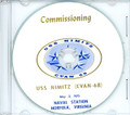 USS Nimitz  CVAN 68 Commissioning Program on CD 1975 Plank Owner