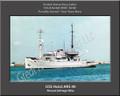 USS Hoist ARS 40 Personal Ship Canvas Print Photo US Navy Veteran Gift