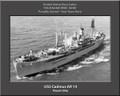 USS Cadmus AR 14 Personal Ship Canvas Print Photo US Navy Veteran Gift