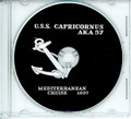 USS Capricornus AKA 57 1957 CRUISE BOOK CD