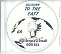 USS Ernest G Small DDR 838 1960 CRUISE BOOK CD