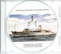 USS Avenger MCM 1 Commissioning Program on CD 1987 Plank Owner