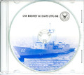 USS Rodney M Davis FFG 60 Commissioning Program on CD 1987 Plank Owner