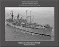 USS Bold MSO 424 Personalized Canvas Ship Photo Print Navy Veteran Gift