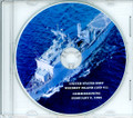 USS Whidbey Island LSD 41 Commissioning Program on CD 1985 Plank Owner