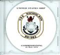 USS Nicholson DD 982 Commissioning Program on CD 1979