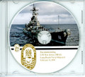 USS New Jersey BB 62 Decommissioning Program on CD 1991