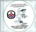 USS Lewis B Puller FFG 23  Decommissioning Program on CD 1998