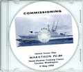 USS Marathon PG 89  Commissioning Program on CD 1968