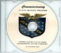 USS McCloy DE 1038  Commissioning Program on CD 1963