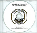 USS Merrill DD 976 Decommissioning Program on CD 1998