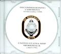 USS Merrimack AO 179 Decommissioning Program on CD 1998