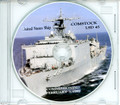 USS Comstock LSD 45 Commissioning Program on CD 1990