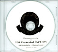 USS Forrestal AVT 59 Decommissioning Program on CD 1993