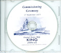 USS King DDG 41 Commissioning Program on CD 1977
