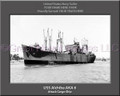 USS Alchiba AKA 6 Personalized Ship Canvas Print