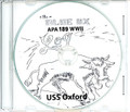 USS Oxford APA 189 WWII Cruise Book CD