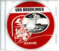USS Brookings APA 140 WWII Cruise Book CD