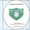 USS Connole DE 1056 Commissioning Program on CD 1969