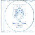 USS Harry E Yarnell CG 17 Decommissioning Program on CD 1993