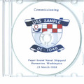 USS Sample DE 1048 Commissioning Program on CD 1968