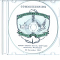 USS Roark DE 1053 Commissioning Program on CD 1969