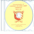 USS Gridley DLG 21 Commissioning Program on CD 1970