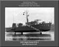 USS High Point PCH 1  Photo Personalized Ship Canvas Print