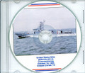 USS Zephyr PC 8 Commissioning Program on CD 1994 Plank Owner