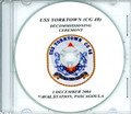 USS Yellowstone AD 41 Deommissioning Program on CD 1996