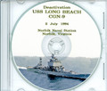 USS Long Beach CGN 9 Deactivation Program on CD 1994