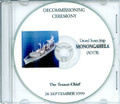 USS Monongahela AO 178 Decommissioning Program on CD 1999