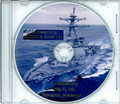 USS Russell DDG 59 Commissioning Program on CD 1995 Plank Owner
