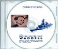 USS Waddell DDG 24 Commissioning Program on CD 1964 Plank Owner
