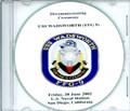 USS Wadsworth FFG 9 Decommissioning Program on CD 2002