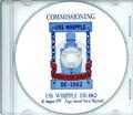 USS Whipple DE 1062 Commissioning Program on CD 1970 Plank Owner