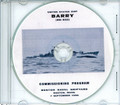 USS Barry DD 933 Commissioning Program on CD 1956 Plank Owner
