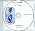 USS Belknap DLG 26 Commissioning Program on CD 1964 Plank Owner