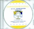 USS Charleston LKA 113 Commissioning Program on CD 1968 Plank Owners