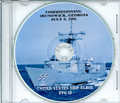 USS Elrod FFG 55 Commissioning Program on CD 1985 Plank Owners