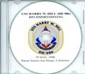 USS Harry W Hill DD 986 Decommissioning Program on CD 1998