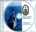 USS Jarrett FFG 33 Commissioning Program on CD 1983 Plank Owners