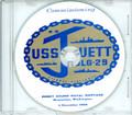 USS Jouett DLG 29 Commissioning Program on CD 1966 Plank Owners