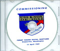 USS Knox DE 1052 Commissioning Program on CD 1969 Plank Owners
