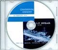 USS L.Y. Spear AS 36 Commissioning Program on CD 1970 Plank Owners