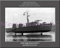 USS High Point PCH 1 Personalized Ship Photo Canvas Print