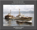 USS Elkhorn AOG 7 Personalized Ship Canvas Print Photo 2 US Navy Veteran Gift