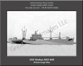 USS Stokes AKA 68 Personalized Ship Photo 2 on Canvas Print