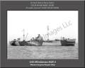 USS Mindanao AGR 3 Personalized Ship Photo on Canvas Print