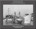 USS Endymion ARL 9 Personalized Ship Photo on Canvas Print